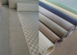 天然イ草表、和紙表など、通常の畳に使用している材料からお選び頂けます。